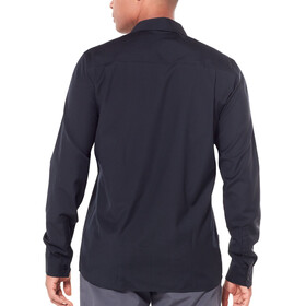 Icebreaker Departure II Longsleeve Shirt Men black